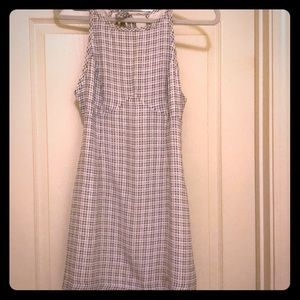 Urban Outfitters Blue and White Gingham Dress